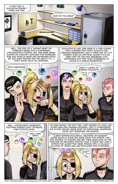 Grrl Power #139 – Safety pins, almost as good as unstable molecules