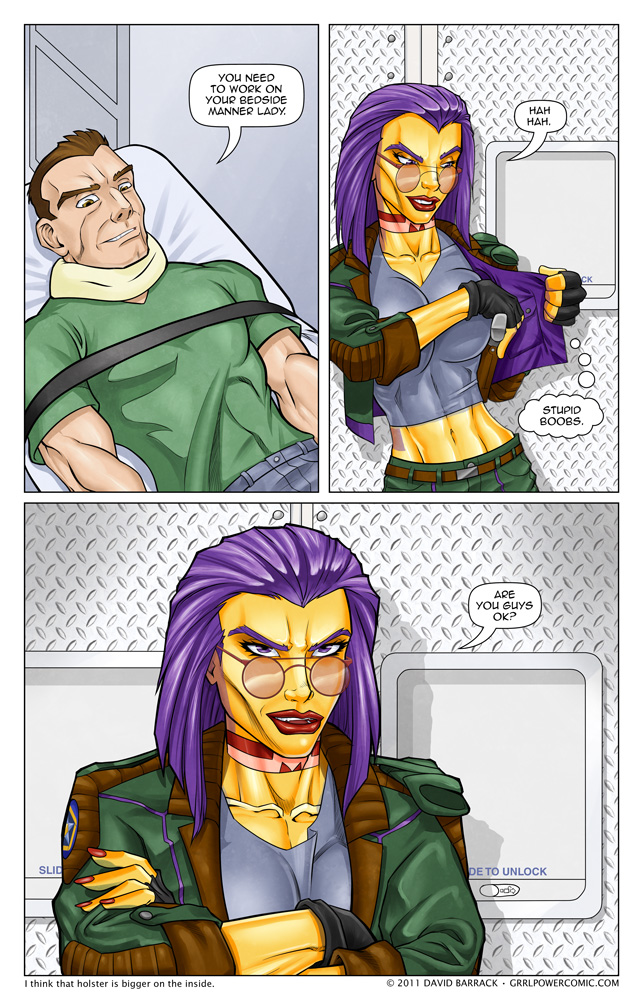 Grrl Power #55 &#8211; Well now that&#8217;s suspicious