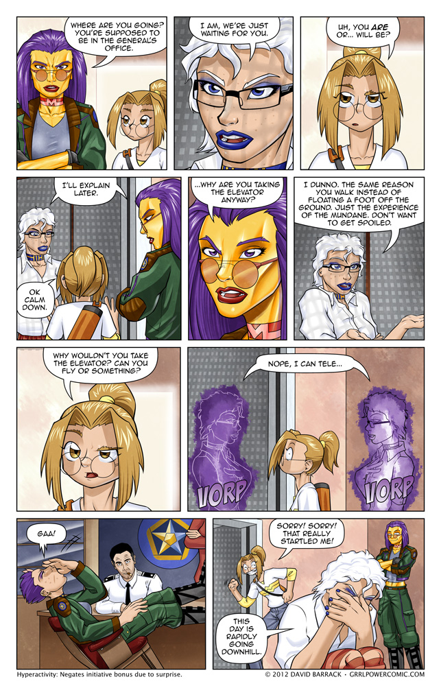 Grrl Power #76 &#8211; I think she&#8217;ll integrate well