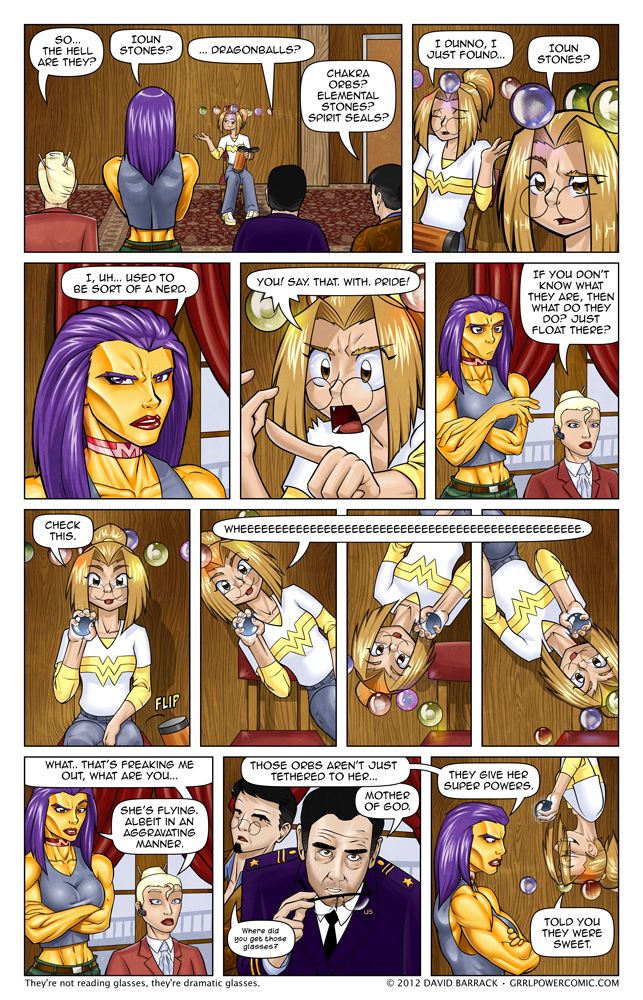 Grrl Power #87 – I can see why this might be cause for concern