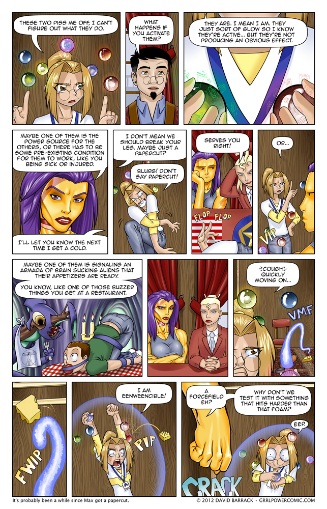 Grrl Power #90 – Grand Mal Willies