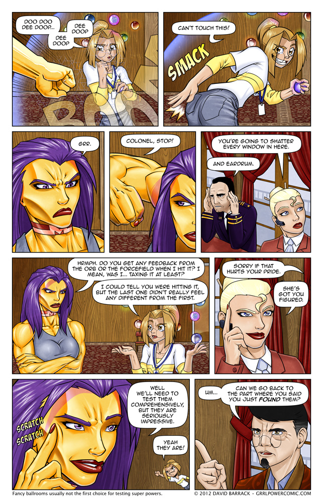 Grrl Power #93 &#8211; Sydney is the only person to get away with this