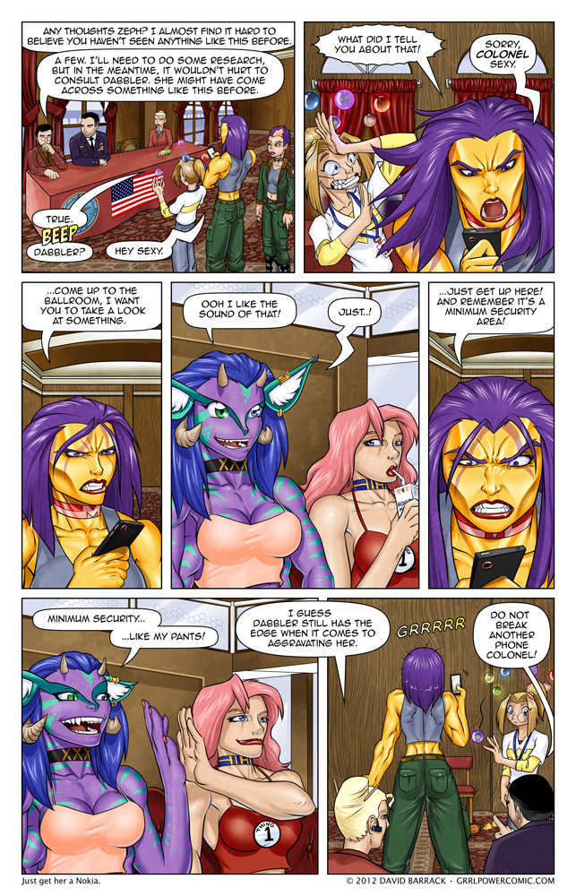 Grrl Power #99 &#8211; This is how you tug on Maxima&#8217;s cape