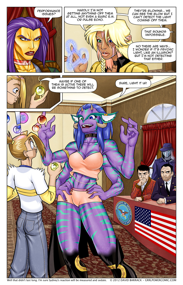 Grrl Power #103 &#8211; I think Dabbler&#8217;s about to detect the People&#8217;s Elbow
