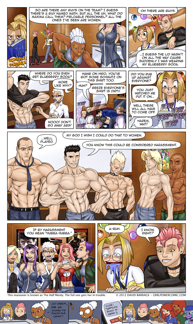 Grrl Power #112 &#8211; Hot Beefcake Injection