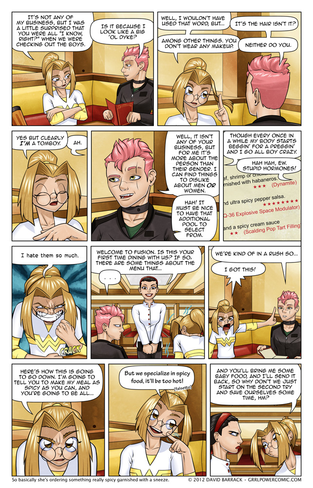 Grrl Power #117 – Table for Two