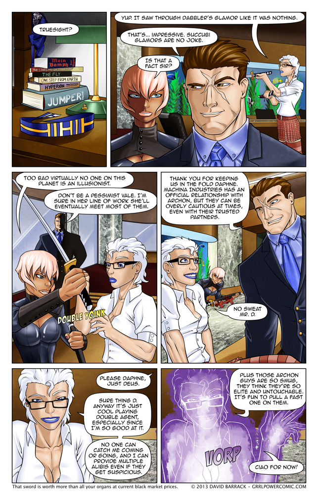 Grrl Power #130 – Singularly skilled double agent quint