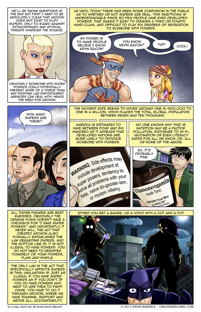 Grrl Power #145 – Let's talk numbers