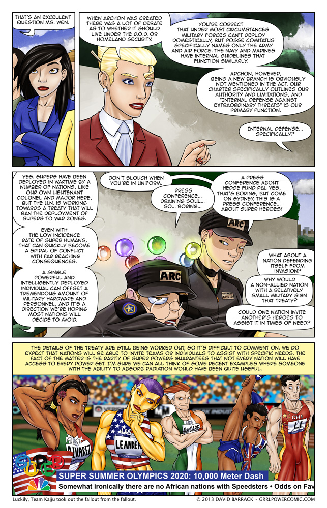 Grrl Power #147 – Flying not allowed in the Super High Jump