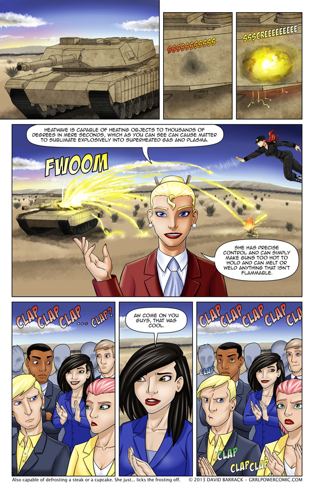 Grrl Power #162 – Serious press is serious