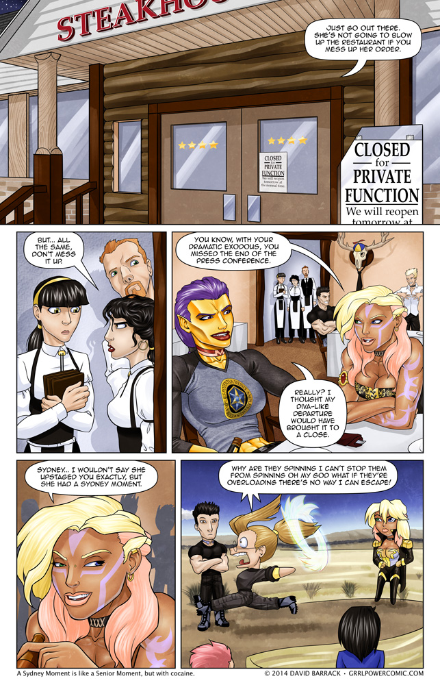 Grrl Power #179 – Terrified the world today? It's Miller time!