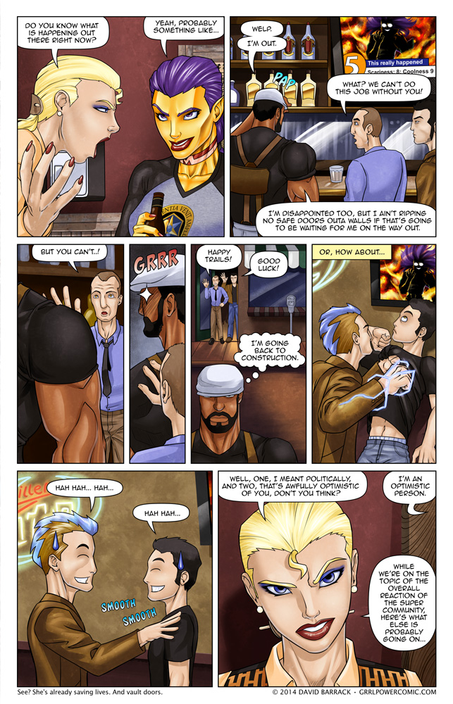 Grrl Power #185 – Our chief weapon is fear. Fear and surprise!