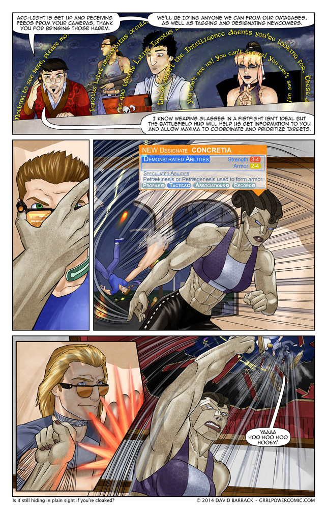 Grrl Power #208 – Arc-LIGHT earns their keep