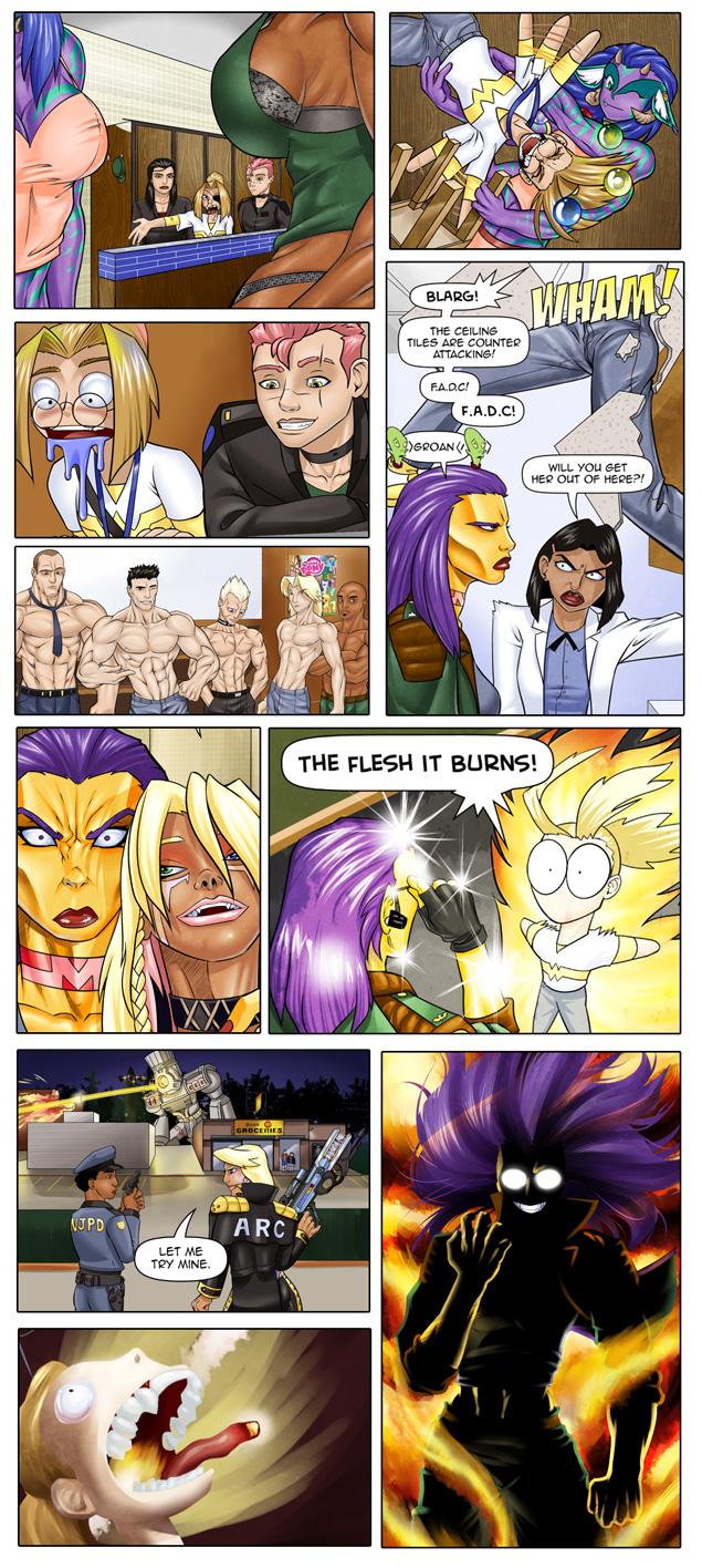 Grrrl power comic